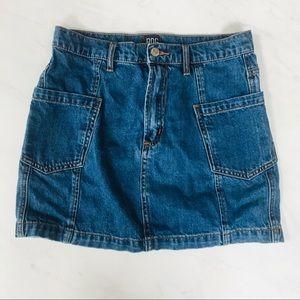BDG Urban Outfitters Denim Jeans Skirt Blue Medium